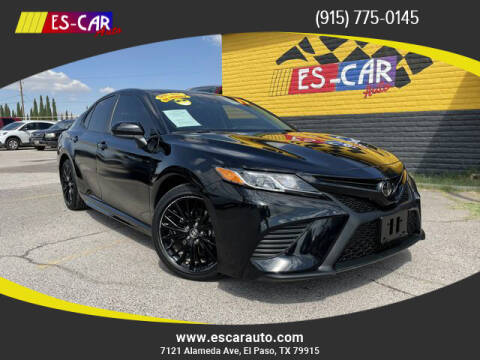 2019 Toyota Camry for sale at Escar Auto - 9809 Montana Ave Lot in El Paso TX
