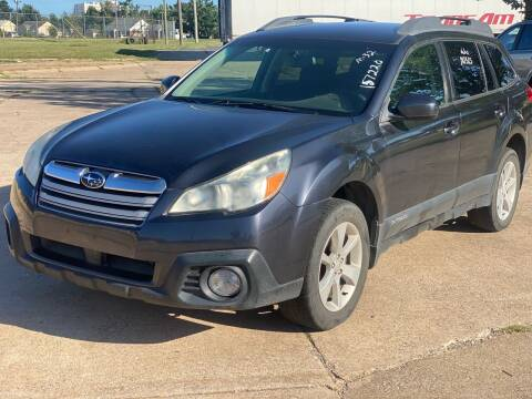 2013 Subaru Outback for sale at Auto Start in Oklahoma City OK