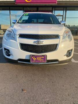 2013 Chevrolet Equinox for sale at East Carolina Auto Exchange in Greenville NC