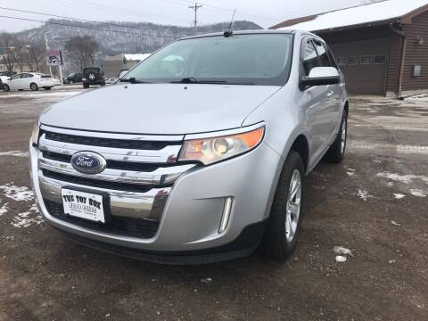 2013 Ford Edge for sale at Toy Box Auto Sales LLC in La Crosse WI