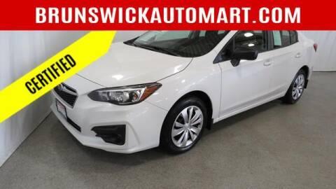 2018 Subaru Impreza for sale at Brunswick Auto Mart in Brunswick OH