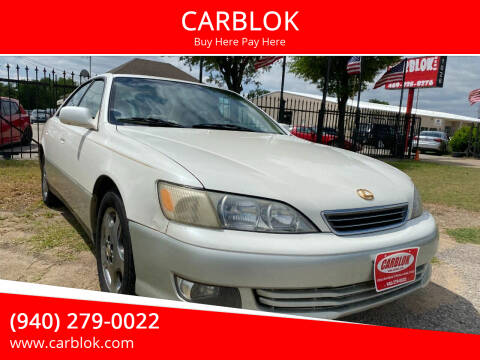 2001 Lexus ES 300 for sale at CARBLOK in Lewisville TX