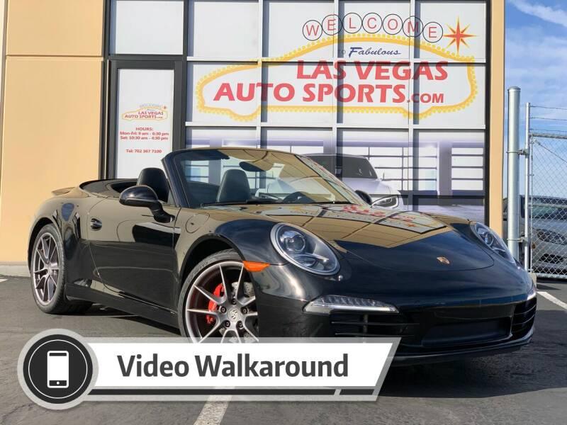 2014 Porsche 911 for sale at Las Vegas Auto Sports in Las Vegas NV