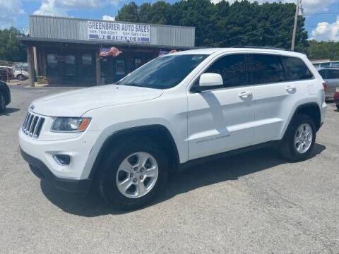 2015 Jeep Grand Cherokee for sale at Greenbrier Auto Sales in Greenbrier AR