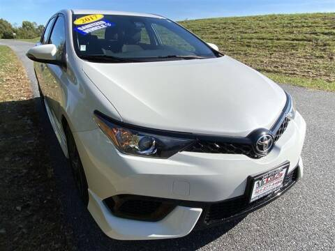 2017 Toyota Corolla iM for sale at Mr. Car City in Brentwood MD