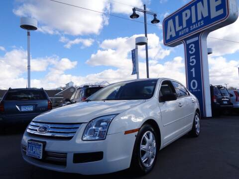 2008 Ford Fusion for sale at Alpine Auto Sales in Salt Lake City UT