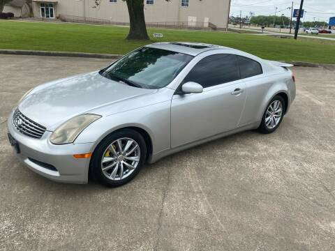 2003 Infiniti G35 for sale at M A Affordable Motors in Baytown TX