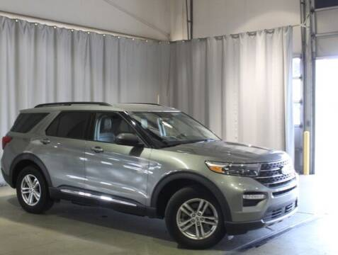 2020 Ford Explorer for sale at Auto Center of Columbus in Columbus OH