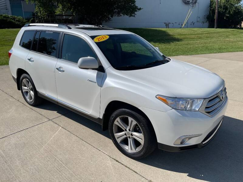 2013 Toyota Highlander for sale at Best Buy Auto Mart in Lexington KY