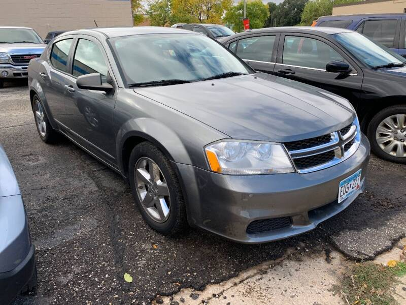 2012 Dodge Avenger for sale at BEAR CREEK AUTO SALES in Rochester MN