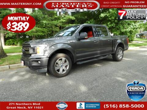 2018 Ford F-150 for sale at European Masters in Great Neck NY