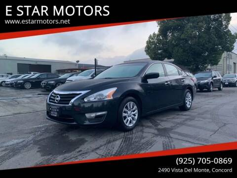 2013 Nissan Altima for sale at E STAR MOTORS in Concord CA