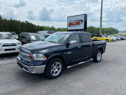 2017 RAM Ram Pickup 1500 for sale at Billy Ballew Motorsports in Dawsonville GA