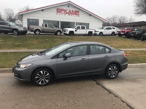 2013 Honda Civic for sale at Efkamp Auto Sales LLC in Des Moines IA
