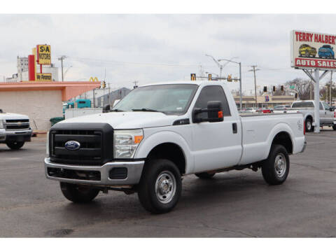 2011 Ford F-250 Super Duty for sale at Terry Halbert Auto Sales in Yukon OK