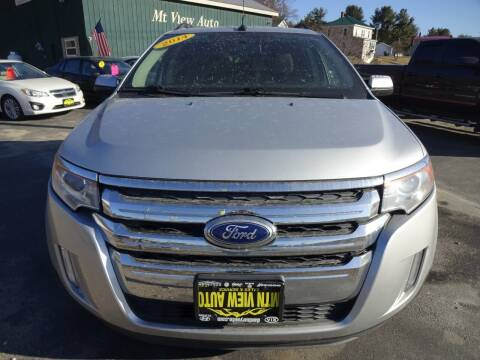 2014 Ford Edge for sale at MOUNTAIN VIEW AUTO in Lyndonville VT