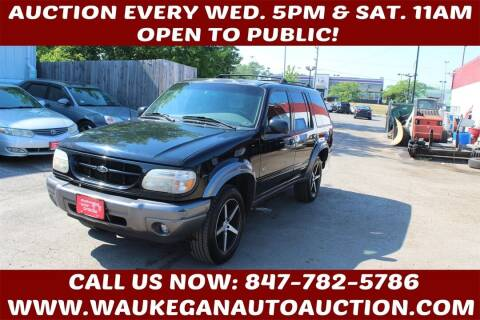 2000 Ford Explorer for sale at Waukegan Auto Auction in Waukegan IL