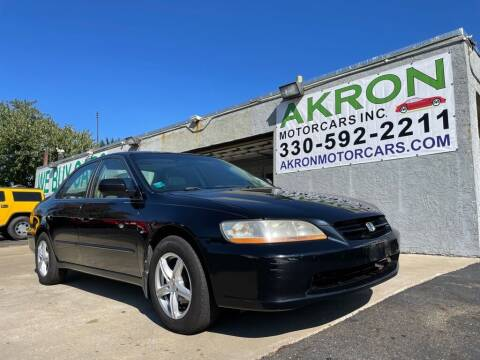 2000 Honda Accord for sale at Akron Motorcars Inc. in Akron OH