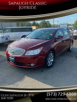 2010 Buick LaCrosse for sale at Sapaugh Classic Joyride in Salem MO