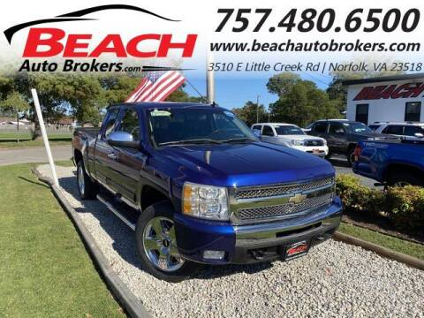 2010 Chevrolet Silverado 1500 for sale at Beach Auto Brokers in Norfolk VA