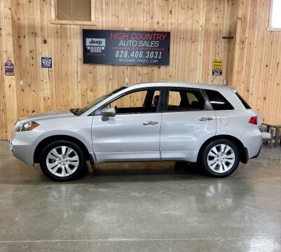2011 Acura RDX for sale at Boone NC Jeeps-High Country Auto Sales in Boone NC