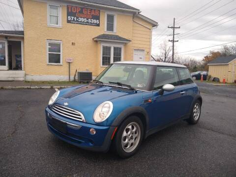 2006 MINI Cooper for sale at Top Gear Motors in Winchester VA