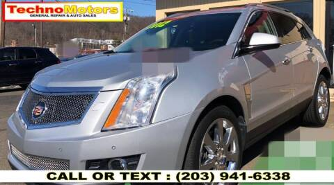 2012 Cadillac SRX for sale at Techno Motors in Danbury CT