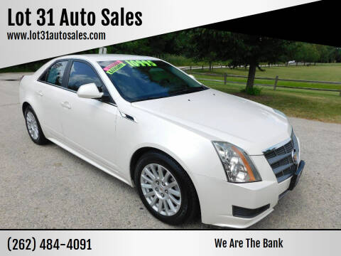 2011 Cadillac CTS for sale at Lot 31 Auto Sales in Kenosha WI