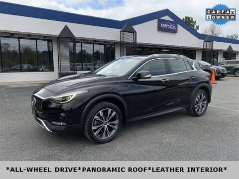 2017 Infiniti QX30 for sale at Impex Auto Sales in Greensboro NC
