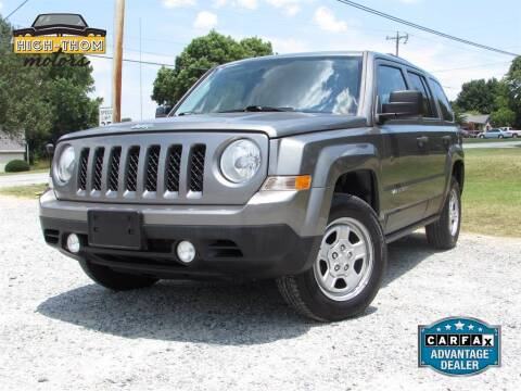 2013 Jeep Patriot for sale at High-Thom Motors in Thomasville NC