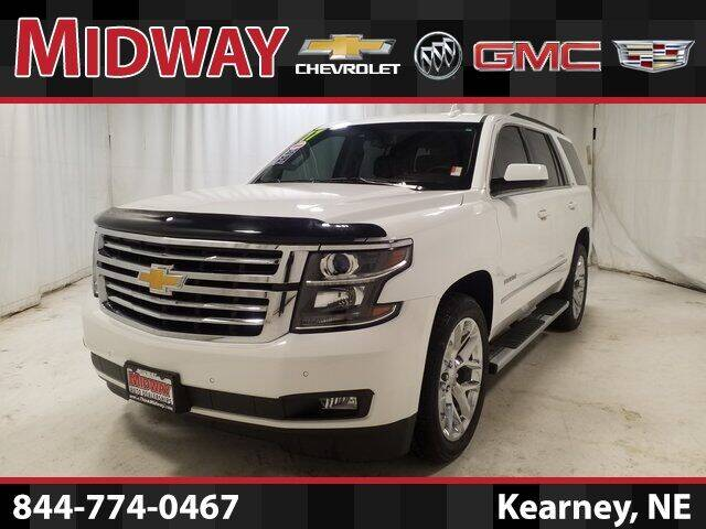 2017 Chevrolet Tahoe for sale at Midway Auto Outlet in Kearney NE