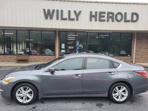 2015 Nissan Altima for sale at Willy Herold Automotive in Columbus GA