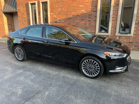 2017 Ford Fusion for sale at Riverview Auto Brokers in Des Plaines IL