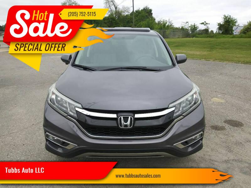 2015 Honda CR-V for sale at Tubbs Auto LLC in Tuscaloosa AL