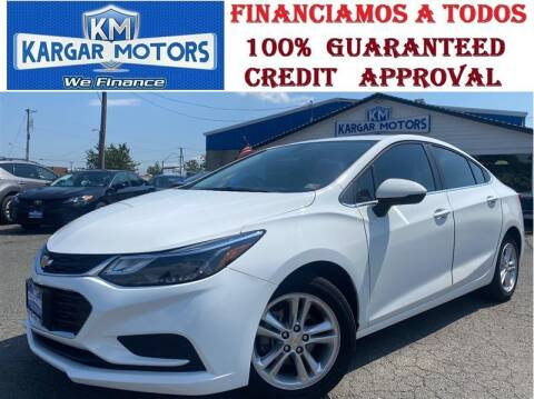 2017 Chevrolet Cruze for sale at Kargar Motors of Manassas in Manassas VA