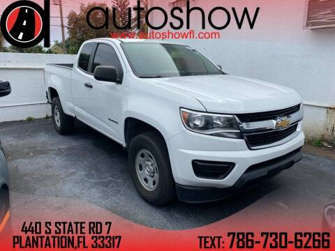 2017 Chevrolet Colorado for sale at AUTOSHOW SALES & SERVICE in Plantation FL