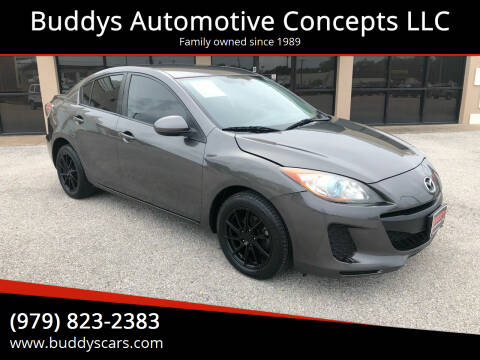 2013 Mazda MAZDA3 for sale at Buddys Automotive Concepts LLC in Bryan TX