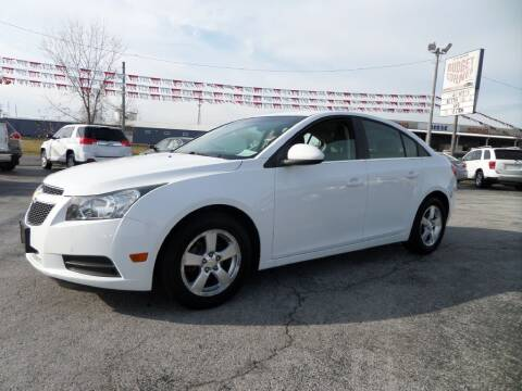 2012 Chevrolet Cruze for sale at Budget Corner in Fort Wayne IN