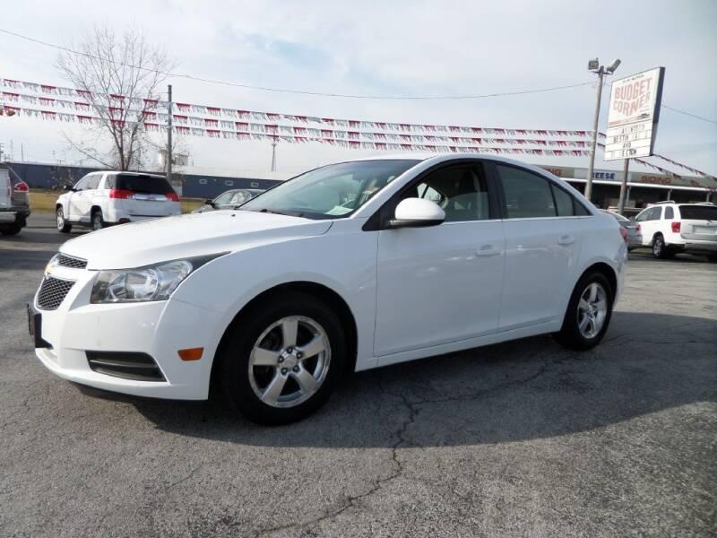 2012 Chevrolet Cruze for sale at Budget Corner in Fort Wayne IN