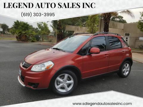 2008 Suzuki SX4 Crossover for sale at Legend Auto Sales Inc in Lemon Grove CA