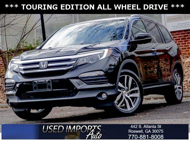 2017 Honda Pilot for sale at Used Imports Auto in Roswell GA