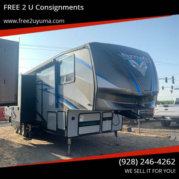 2018 Forest River Vengeance for sale at FREE 2 U Consignments in Yuma AZ