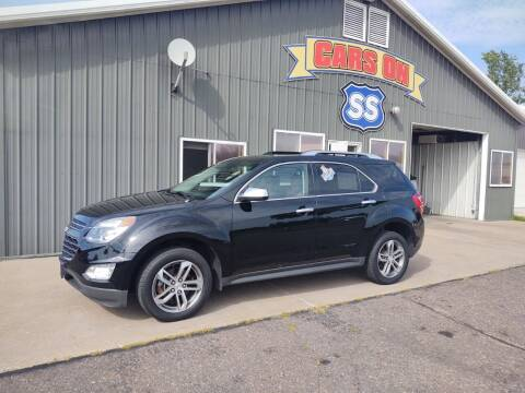 2017 Chevrolet Equinox for sale at CARS ON SS in Rice Lake WI