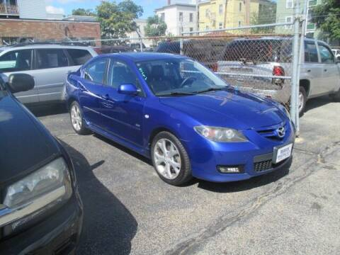 2008 Mazda MAZDA3 for sale at MERROW WHOLESALE AUTO in Manchester NH