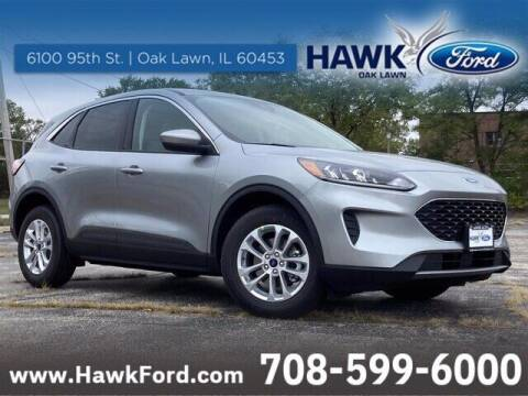 2021 Ford Escape Hybrid for sale at Hawk Ford of Oak Lawn in Oak Lawn IL