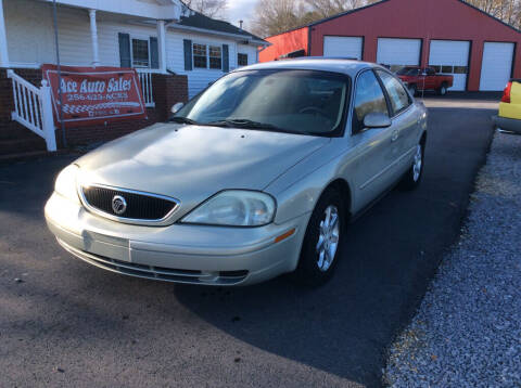 2003 Mercury Sable for sale at Ace Auto Sales - $800 DOWN PAYMENTS in Fyffe AL
