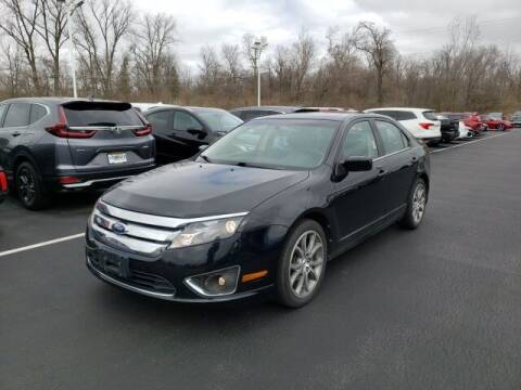 2012 Ford Fusion for sale at White's Honda Toyota of Lima in Lima OH