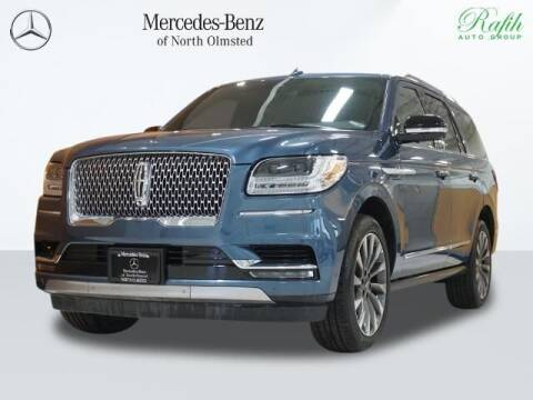 2020 Lincoln Navigator for sale at Mercedes-Benz of North Olmsted in North Olmstead OH