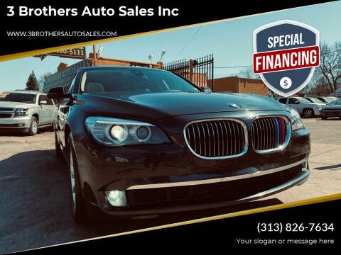 2015 BMW 7 Series for sale at 3 Brothers Auto Sales Inc in Detroit MI