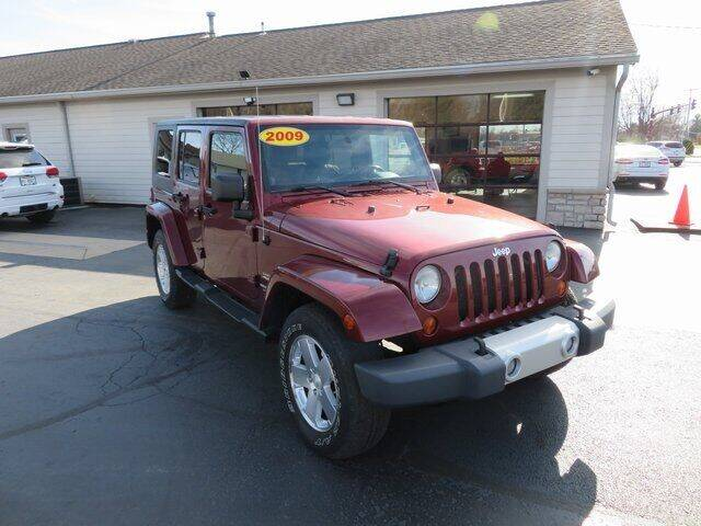 2009 Jeep Wrangler Unlimited for sale at Tri-County Pre-Owned Superstore in Reynoldsburg OH